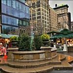 Vánoční trhy v New Yorku